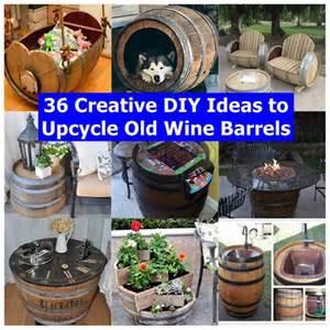 36 creative diy ideas to upcycle old wine barrels diy tips