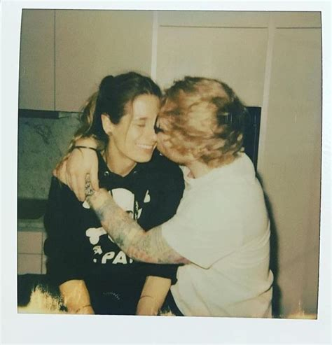 ed sheeran announces engagement  childhood sweetheart cherry seaborn  touching instagram post