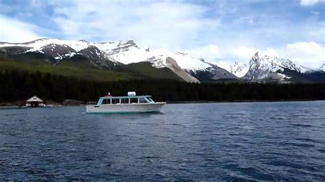 boat tour youtube maligne lake boat tour youtube