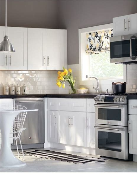 subway tile colors kitchen beautiful crisp gray kitchen get the look with dunn