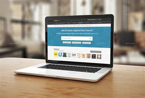 Home Designer Pro Help laptop screen mock up by blatomdesign graphicriver