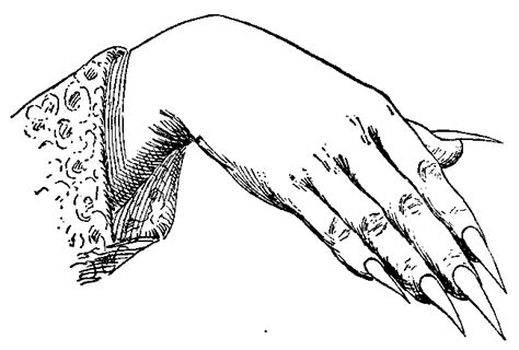 coloring pages of hands with nails long nails hands drawings sketch coloring page