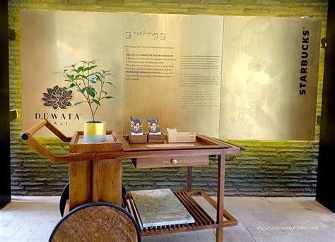 starbucks reserve dewata coffee sanctuary kaya kenyamanan