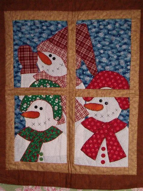 pattern for christmas quilt 8 snowman quilt patterns snowman patterns and window