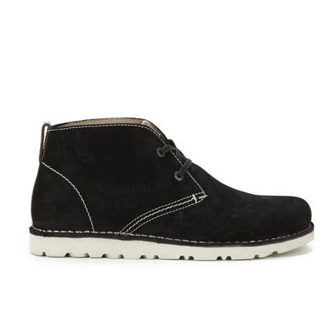 birkenstock boots mens birkenstock s harris suede desert boots black