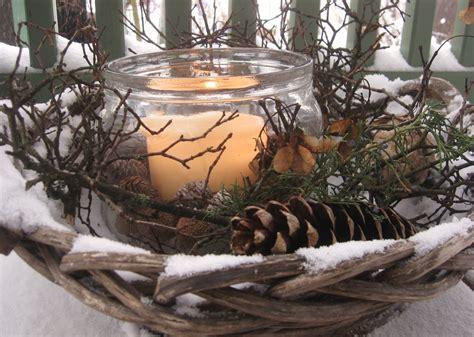 Deko Garten Winter by Winterdekoration Mein Garten