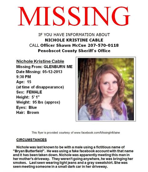 Help Find Missing Help Find Missing Cable 15 Year Verified Stuckathomemom