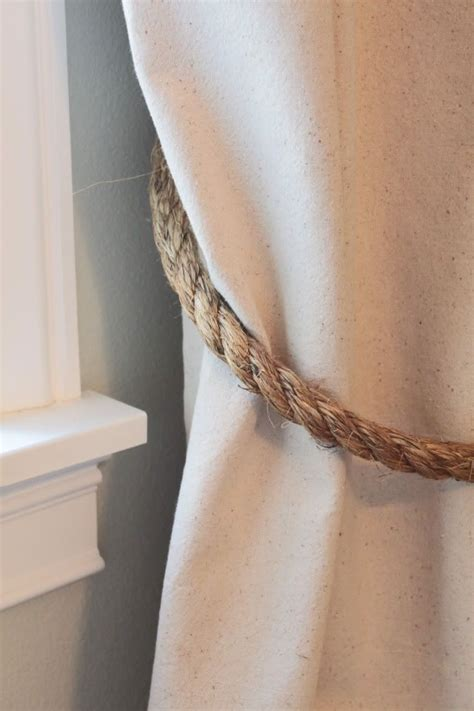 curtain rod tie backs curtain tie backs for the home pinterest