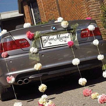 autoschmuck hochzeit just married schild quot just married quot hochzeitslocation dekoration