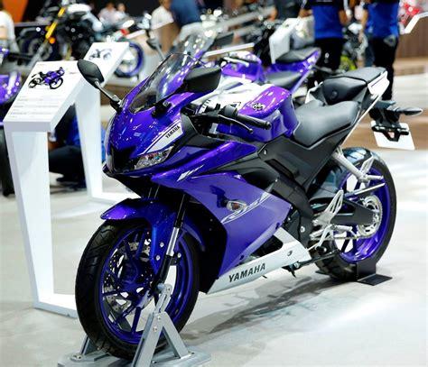 Leher Yamaha New R15 Vva V3 Stenlis yamaha r15 v3 0 showcased at motorcycle show