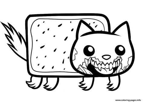 zombie cat coloring page draw zombie nyan cat zombie nyan cat coloring pages printable