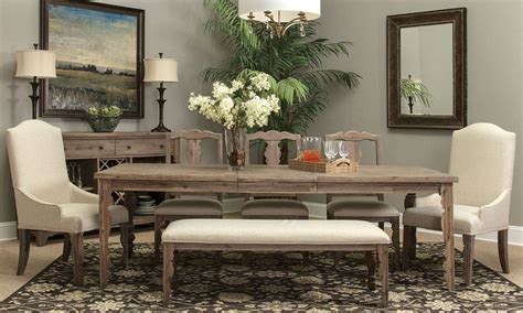 pulaski vintage tempo dining set the dump america s picture of magnolia dining set dining room sets at the dump