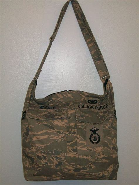 tote bag pattern from military uniform personalized custom made military diaper bag tote made