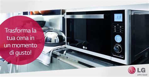 come si cucina con il microonde i concorsi di lg esaltare il forno a microonde in cucina