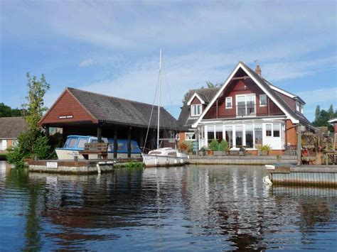 Norfolk Broads Fishing Cottages by Waterside Retreat Wheelchair Accessible Cottage In The
