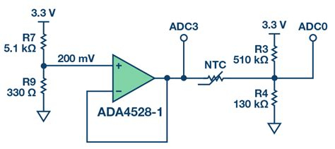 ntc thermistor signal conditioning complete gas sensor circuit using nondispersive infrared ndir analog devices