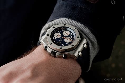 Audemars Piguet Roo Black Silver review audemars piguet royal oak offshore chronograph