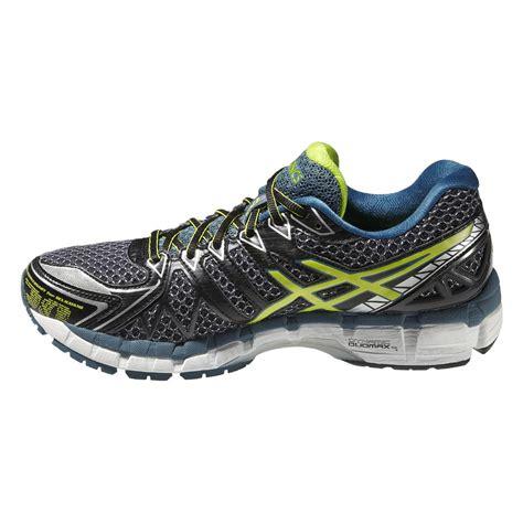 asics gel kayano 20 mens running shoes asics mens gel kayano 20 running shoes black lime