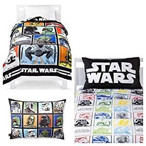 star wars twin bed in a bag amazon com star wars quot classic quot 5 piece twin bed in a bag