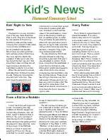 Sample News Report For Students Gallery For Gt Newspaper Article Format Example