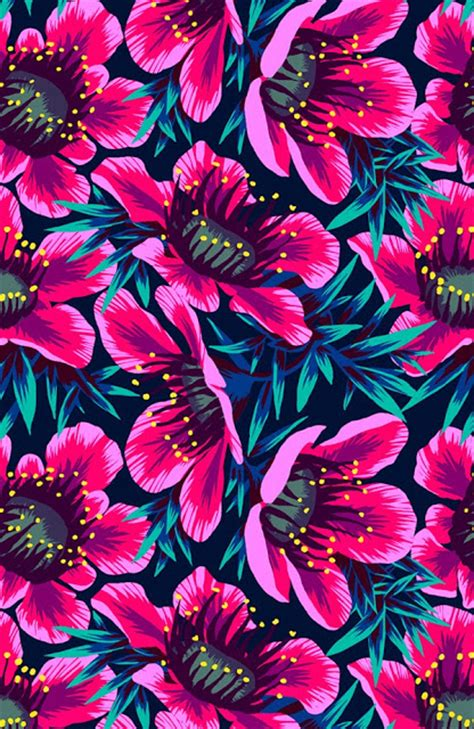 Repeat Trend Florals 2 by Friday S Ffffound Floral Repeat Louise Layla