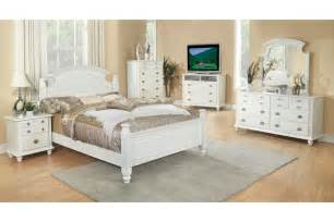 freemont white king size bedroom set