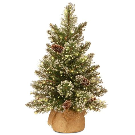 2 ft tree with lights national tree company 7 ft winchester white pine