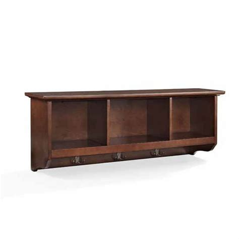 entryway storage shelf with hooks and by knot2shabbycustomcre crosley furniture brennan entryway storage shelf with