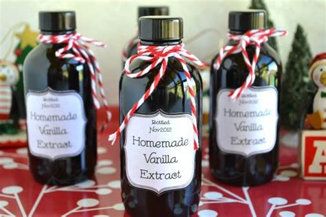 homemade christmas gifts for coworkers gifts from the kitchen vanilla flour on my