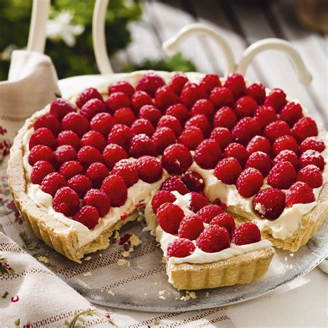recipes with raspberries lemon and raspberry tart woman and home