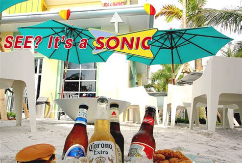 Sonic Miami Gardens by Sonic Drink Beers And Sit In The Sand At Sonic