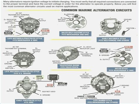 motorola marine alternator wiring diagram wiring diagram