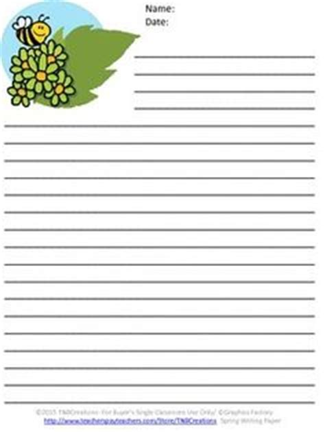 printable writing paper for spring free writing stationary decorated with flowers for spring