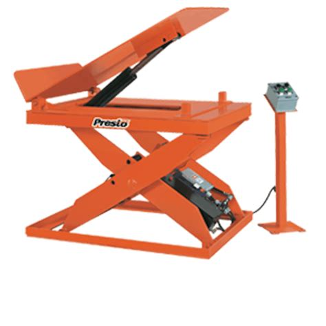 hydraulic pallet lift table presto lifts hydraulic scissor lift tilt table x3wt36 40