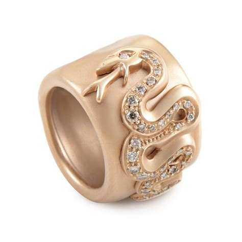pomellato ebay pomellato 18k gold serpent band a a603so7