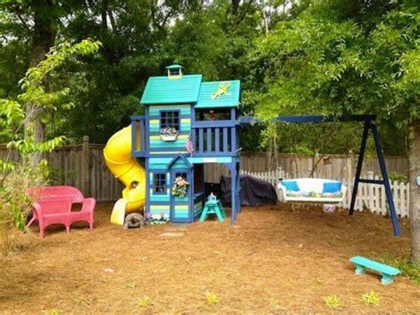 swingset makeover images  pinterest kids yard
