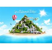 Beautiful Summer Travel Psd Background  Backgrounds PSD