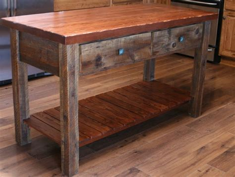 barnwood kitchen island beautiful rustic reclaimed barn wood kitchen island