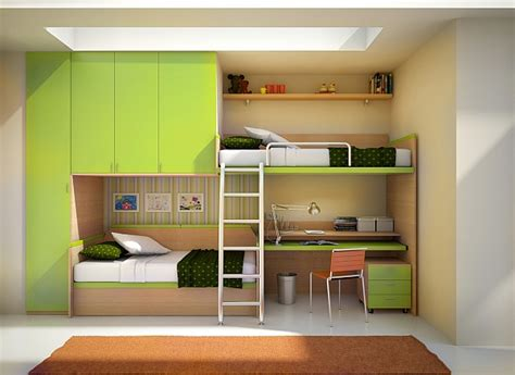 bunk bed with built in desk small space loft bed and desk combo