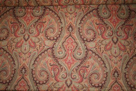 ralph lauren home decor fabric ralph lauren design hera paisley chagne home decorating fabric