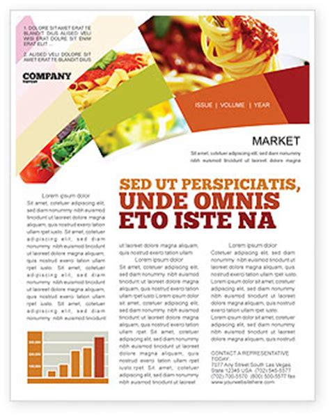 newsletter cuisine food newsletter template for microsoft word
