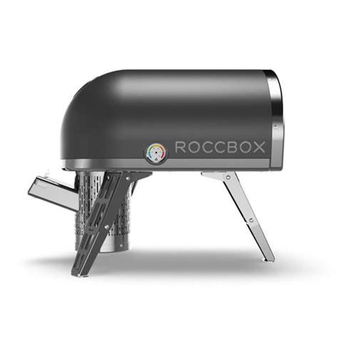 roccbox portable oven cooks a pizza in 90 seconds roccbox pizza oven williams sonoma
