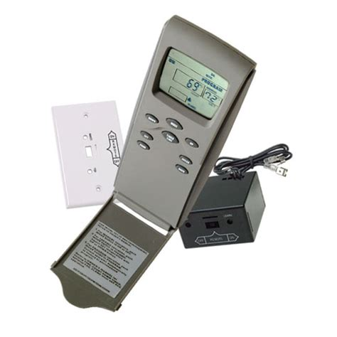 Fireplace Electronic Ignition System by Skytech 3301p Programmable Millivolt Thermostatic Remote
