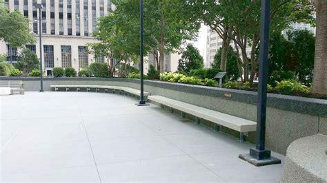 custom concrete benches custom concrete bench seating doty concrete