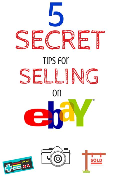 8 Tips On Selling Items On Ebay by 5 Secret Tips For Selling On Ebay The Unextreme