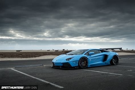 Blue Shark Attack: LB Works' Aventador   Speedhunters