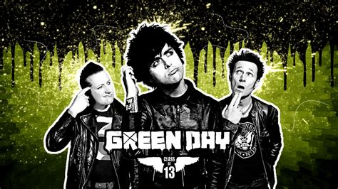 Black Photo Albums Green Day Green Day Wallpaper