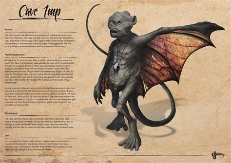 creature design imp by christopheronciu nesbit cave imp creature design