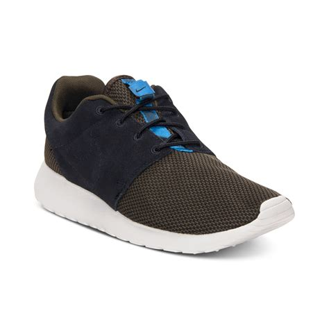 Sale Nike Roshe Run New Casual Pria Sneakers Diskon Terbaru nike roshe run casual sneakers in blue for loden