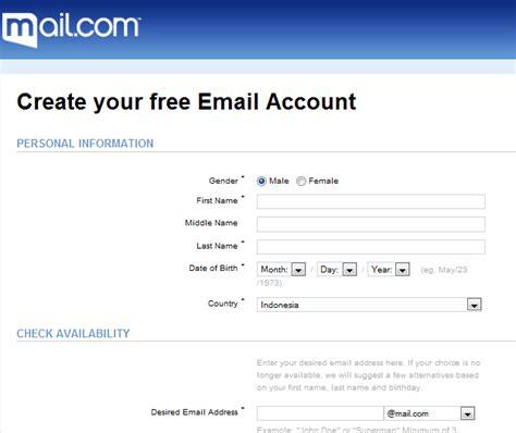 membuat email unik gratis kami anak generation multimedia mr simple